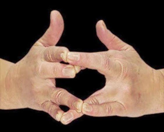 El Surabhi Mudra es muy efectivo para aliviar el reuma y la artrosis. El meñique de la mano izquierda se apoya en el dedo anular de la derecha, y el meñique de la mano derecha en el anular de la izquierda. Al mismo tiempo, los dedos medios de cada mano se apoyan en el índice de la otra. Los pulgares permanecen extendidos. Concéntrese primero en la espiración e imagine que cada vez que exhala el aire sale de su cuerpo una nube oscura. Esta nube contiene la energía quemada, las…
