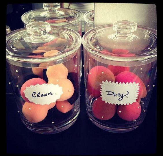 Beauty Blender Storage Makeup Pinterest Acrylics Beauty And