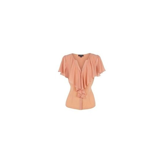 Peach Blouse Polyvore 62
