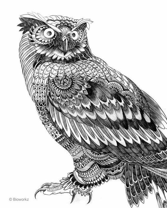 Je trouve que cet oeuvre et très bien détaillé. J'aime aussi le fait qu'elle soit en noir et blanc car on peu se concentrer plus dans les détails qu'elle contient.