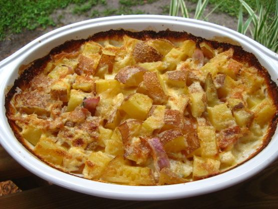 Slow Cooked Bacon Cheese Potatoes Recipe - Food.com: Food.com