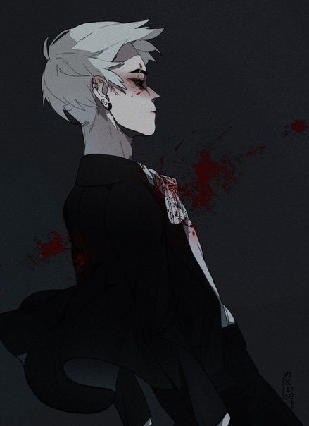 Politics, Grunge and Gore on Pinterest Bloody Dead Anime Guy