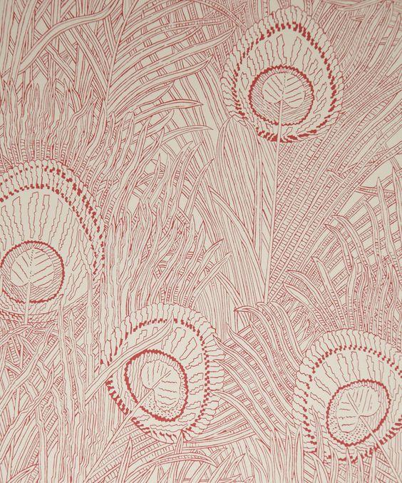 Medevi Wallpaper A beautiful wallpaper inspired by eighteenth - tapeten bordüren wohnzimmer
