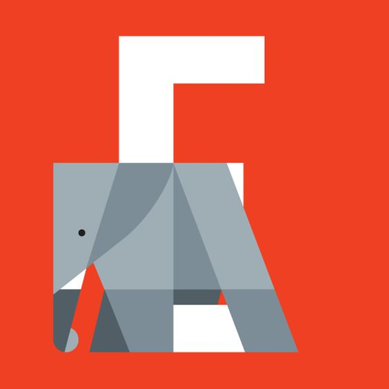 Animal alphabet, a sneak preview by Bart De Keyzer, via Behance