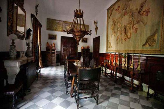 Medina Sidonia Palace, The Dining Room, Sanlúcar de Barrameda, Spain