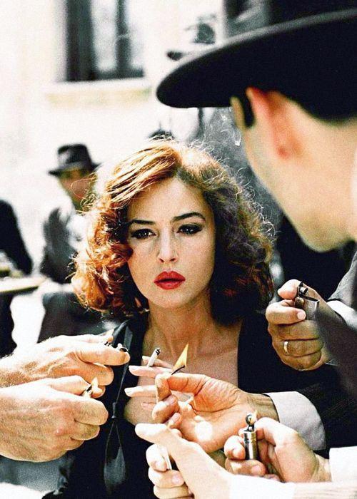 Monica Bellucci Malena chanel bags and cigare...