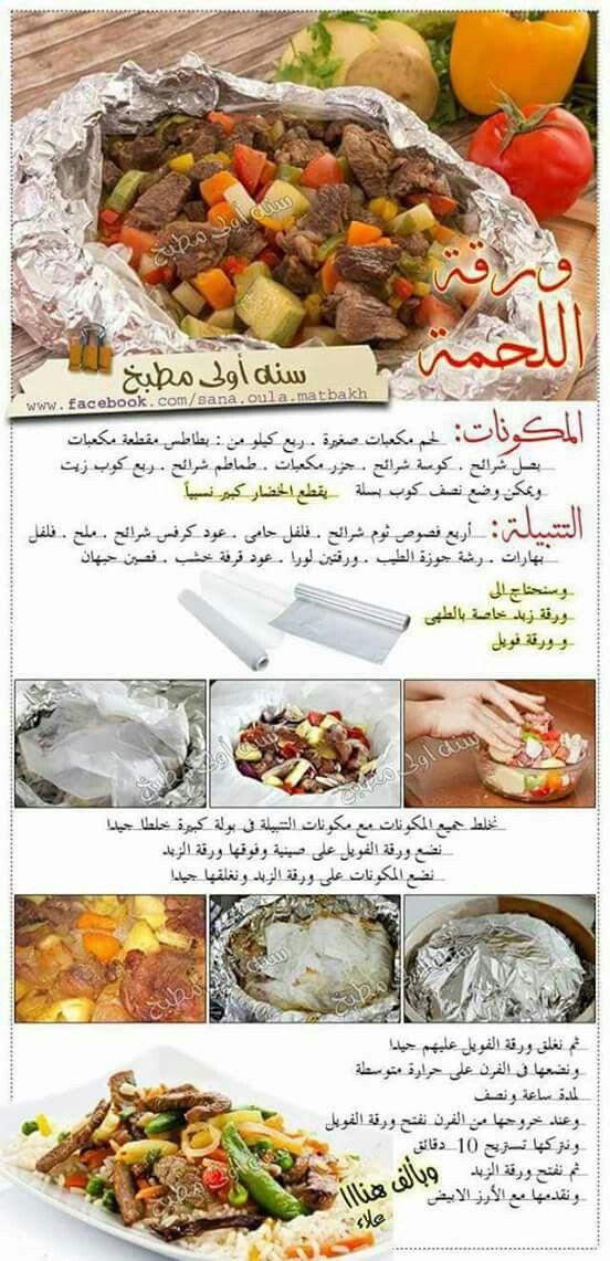 ورقة لحمة Food Recipies Food Receipes Egyptian Food