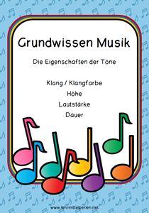 Musik im Unterricht: Grundwissen