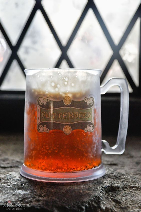 Butterbeer?! Oh Yes, Friends! Butterbeer!! Awesome!!!!!!!!!!!!!!