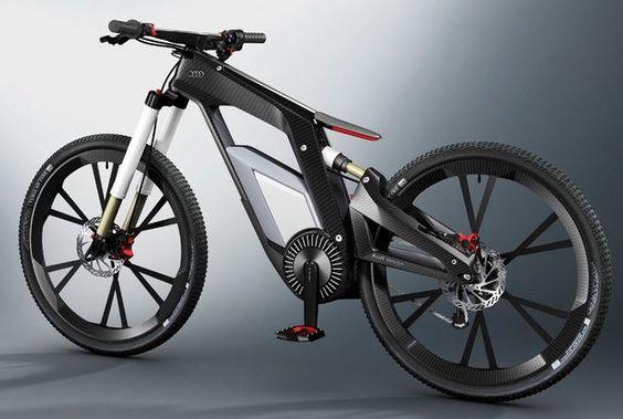La bicicleta eléctrica de Audi