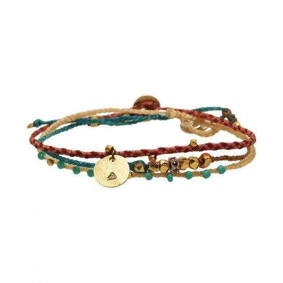 Scosha Natural Turquoise Bead Bracelet