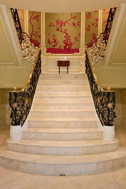 Image detail for luxury staircase haleh design inc for Luxury staircases