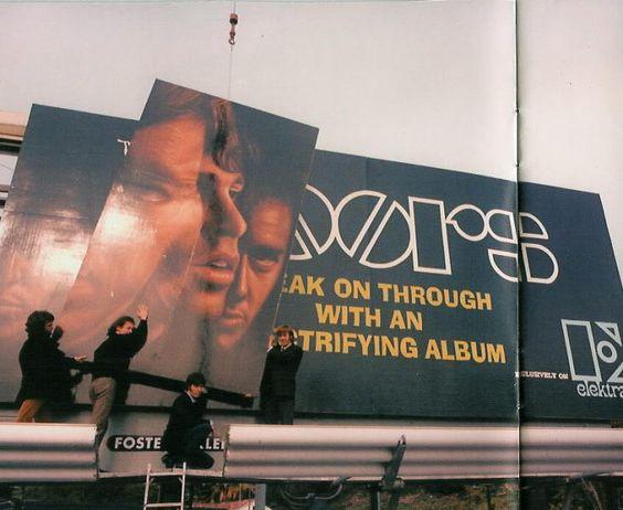 Resultado de imagen de doors billboard