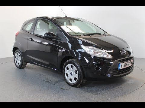 Ford Ka 1 2 Edge Air Conditioning 4 Seats In Black With 34 000