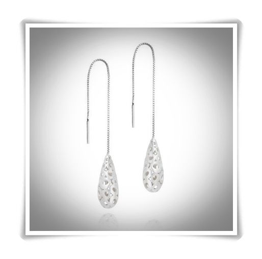 Sterling Silver Drop Earrings for Women: Must See Designs – Top Jewelry Brands, Designs & Online Jewellery Stores