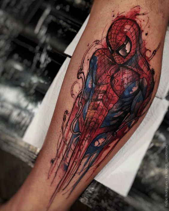 Spiderman by Felipe Rodrigues Fe Rod: