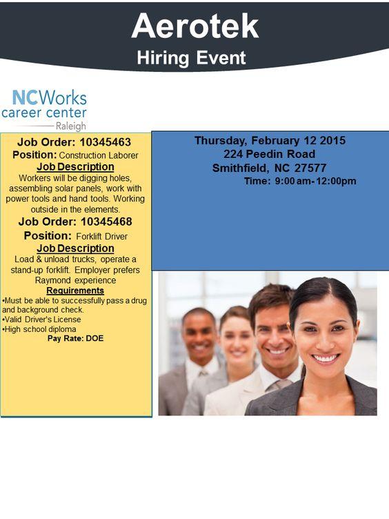Marriott Employment Opportunities Pinterest Employment - construction laborer job description