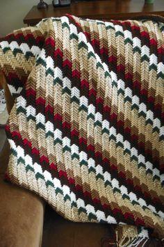 Apache Tears Afghan By Janet Jarosh - Free Crochet Pattern ...