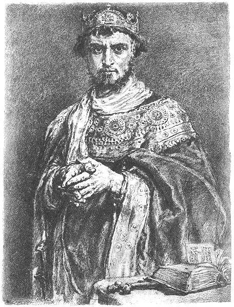 Kazimierz I Karol Odnowiciel (ur. 25 lipca 1016, zm. 19 marca 1058 w Poznaniu) – książę z dynastii Piastów, władca Polski w latach 1034-1058 (z przerwami), syn Mieszka II i Rychezy.       Polska około 1041 roku  Po śmierci ojca, w 1034 objął władzę w zniszczonym kryzysem lat poprzednich państwie. Próbował wzmocnić władzę monarszą, co spotkało się ze sprzeciwem możnowładztwa. Książę został wygnany na Węgry, skąd wyjechał później do Niemiec.