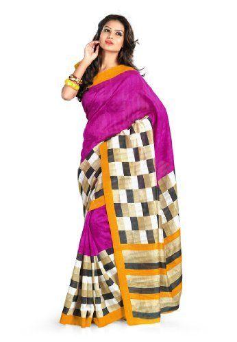 Fabdeal Indian Designer Bhagalpuri Silk Yellow Printed Saree Fabdeal, http://www.amazon.de/dp/B00INWI2RK/ref=cm_sw_r_pi_dp_O-6otb1P2SA9H