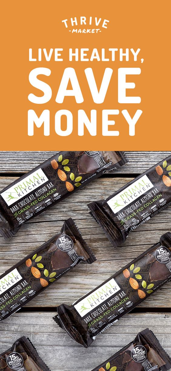 Members save 25-50% off premium, organic foods and healthy products and get FREE delivery to their door! Thrive Market is making healthy living easy and affordable for everyone. Get your FREE 6-pack box of dark chocolate almond bars today while supplies last. Join today, and see how much you can save!