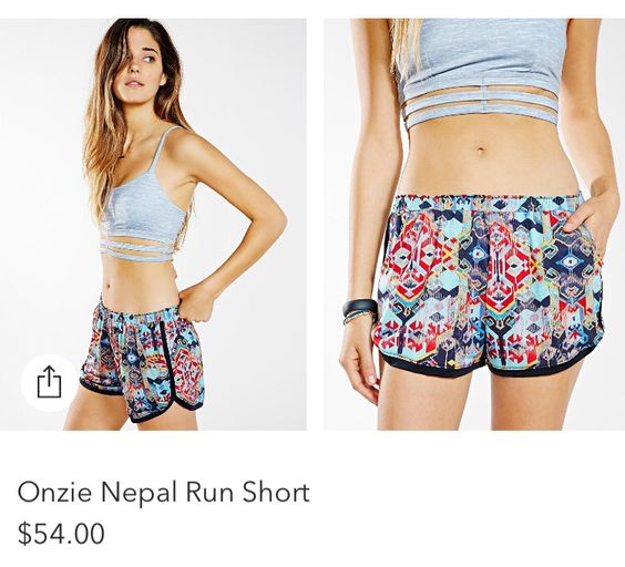 Onside Nepal Run Shorts from Urban Outfitters. See website above
