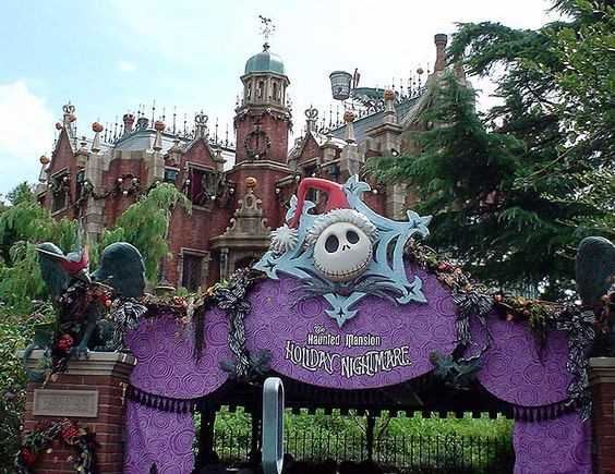 Nightmare before christmas park at Tokyo Disneyland