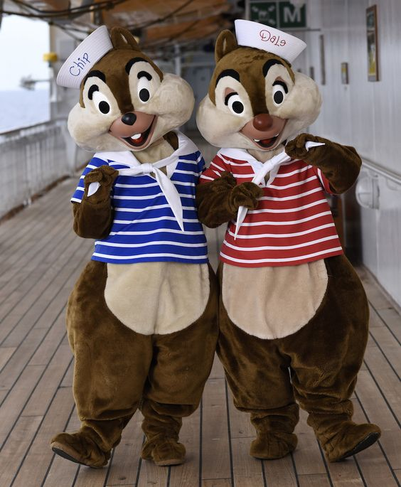 Disney Cruise Line Chip and Dale