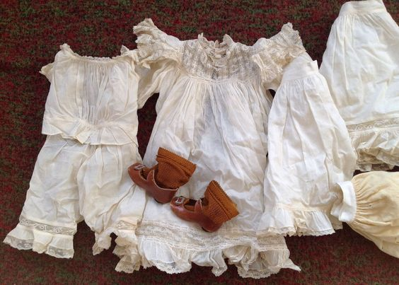 Antique French German Factory Dress Shoes Heinrich Handwerck Kestner Jumeau | eBay
