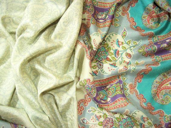 Sari Seide Vintage Oriental Nr. 451 von MariaSingh auf DaWanda.com