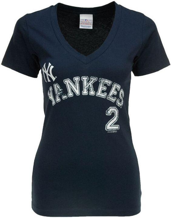 5th & Ocean Women's New York Yankees Derek Jeter Sugar Player T-Shirt #PinScheduler http://mbsy.co/tailwind/18956816