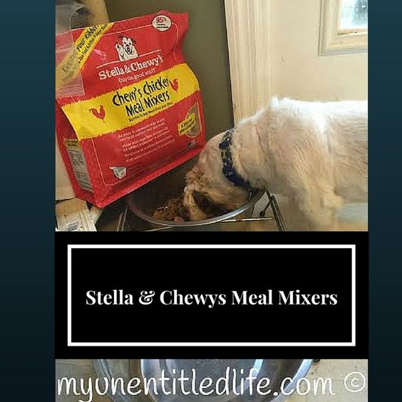 Stella and Chewy's Meal Mixers give my dogs a reason to get excited at dinner time