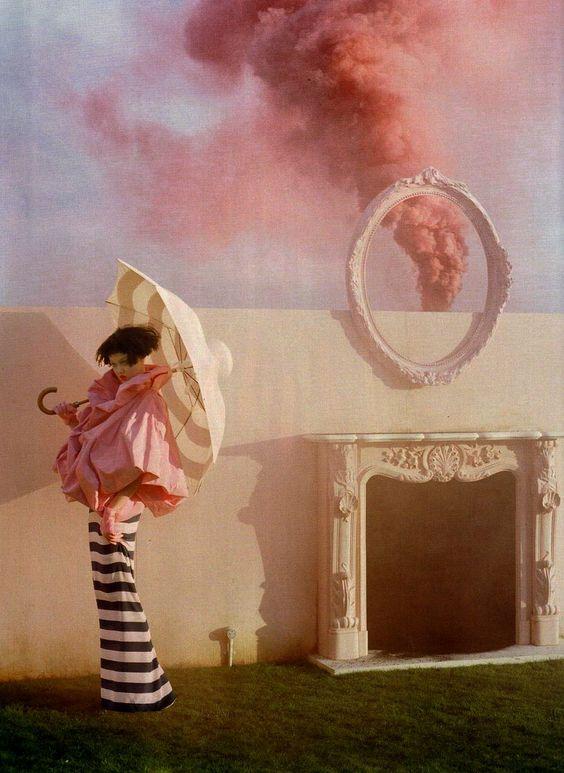 Lindsey Wixson by Tim Walker for Vogue UK April 2011