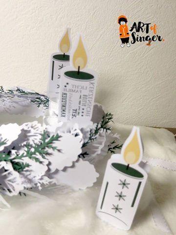 Silhouette plotter file free, Plotter Datei kostenlos, plotter freebie, Weihnachten, Christmas, Xmas, Kerze, candle