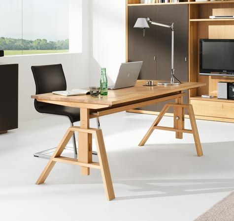 Team 7 Atelier Desk, available at The Mattress \ Sleep Company - team 7 schlafzimmer