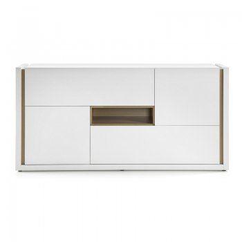 Design dressoir laforma qu 4d wit dressoir wonen for Dressoir design