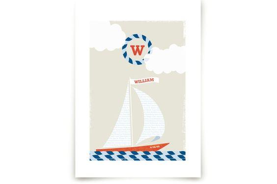 Set Sail by Kristie Kern at minted.com