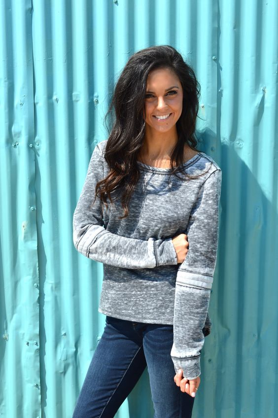 Beaver Creek Sweatshirt- Charcoal from Shop Southern Roots TX