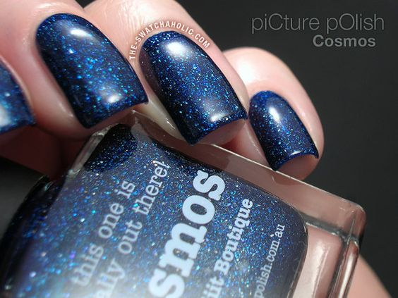 picture polish cosmos swatch