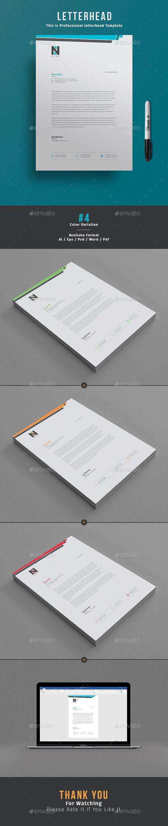 #Letterhead Design is awesome letterhead Template for company letterhead design…