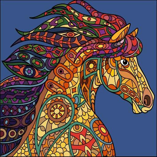 From Paint By Numbers Google App App With Colorful Zebra Wearing Sunglasses Raskraski Risunki Akrilovaya Zhivopis
