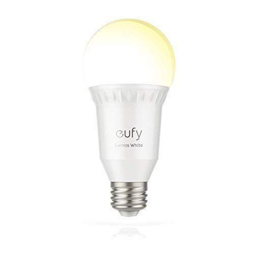Eufy Lumos Smart Wifi Dimmbare E27 Led Lampe 2700k Funktioniert Ohne Hub Steuerbar Via App Kompatibel Mit Amazon Alexa Glas 9 Kwh Weiss 6 Led Lampe Led Lampe