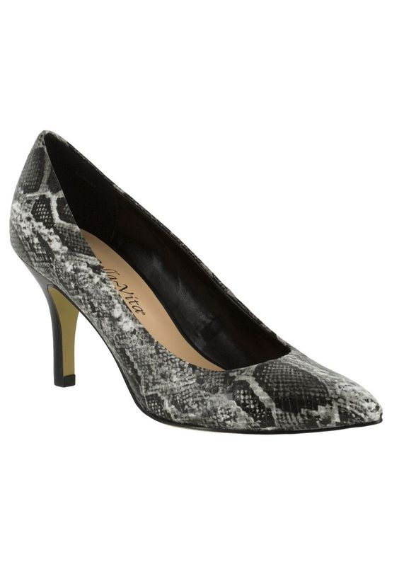 A chic and always-appropriate style, these heels are perfect for the office or any dressy occasion.