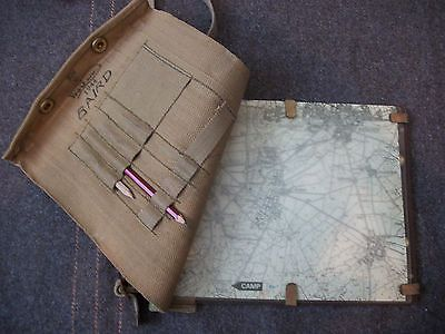 WW2 British Army Officers Map Case 1944 Dated