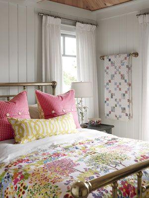 Guest Bedrooms Sarah Richardson style.