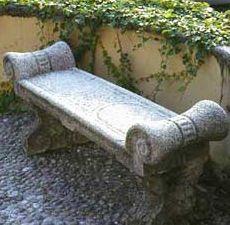 Concrete garden benches Concrete Art Pinterest Gardens
