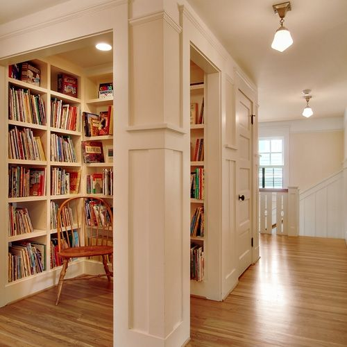 LOVE this small library