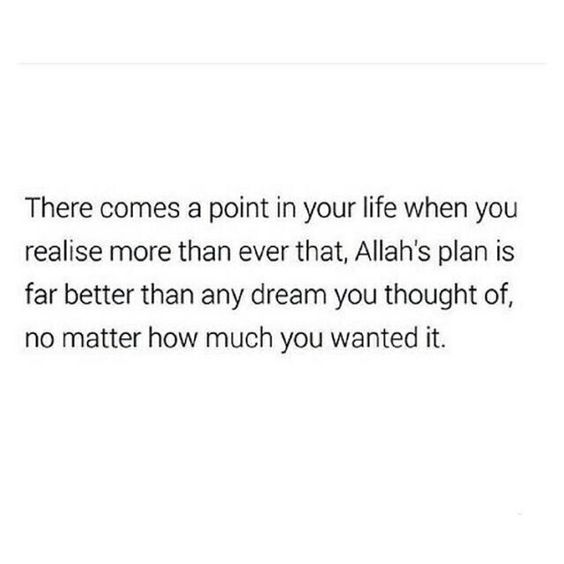 Start to realize that..