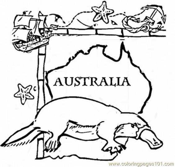 australian coloring pages for kids - photo#19