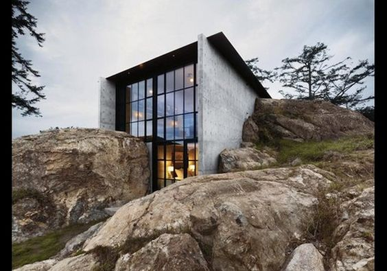 The Pierre Home, San Juan Islands, Washington | Forbes.com: 10 Cool Camouflage Homes | Comcast.net